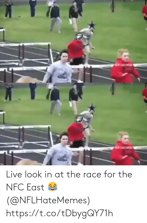 Look In: GNFLHATEMEME   ENFHATEMEME Live look in at the race for the NFC East 😂 (@NFLHateMemes) https://t.co/tDbygQY71h