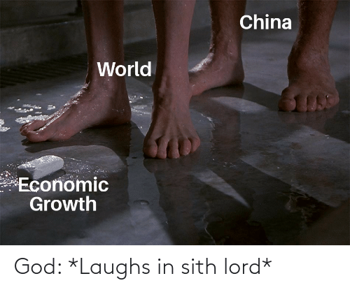 Laughs: God: *Laughs in sith lord*