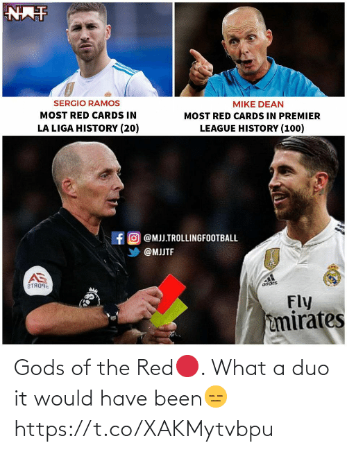 Been: Gods of the Red🔴. What a duo it would have been😑 https://t.co/XAKMytvbpu
