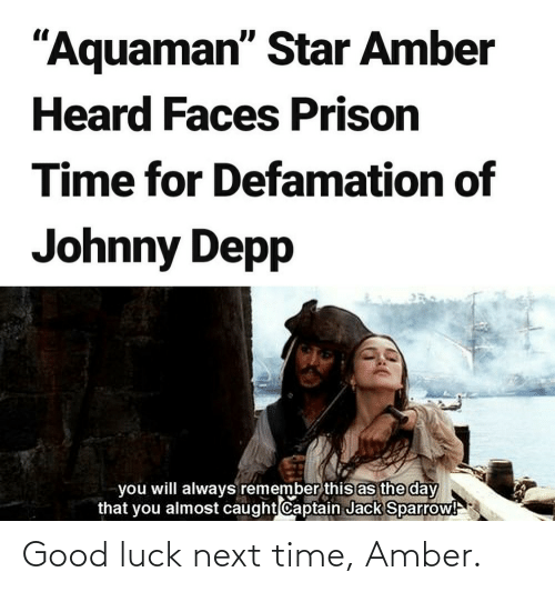 Next Time: Good luck next time, Amber.