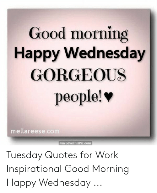 Quote Of The Day For Work Tuesday - Best Quotes
