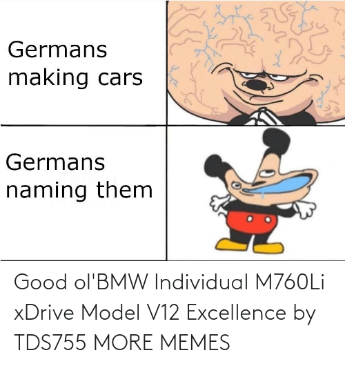Excellence: Good ol'BMW Individual M760Li xDrive Model V12 Excellence by TDS755 MORE MEMES
