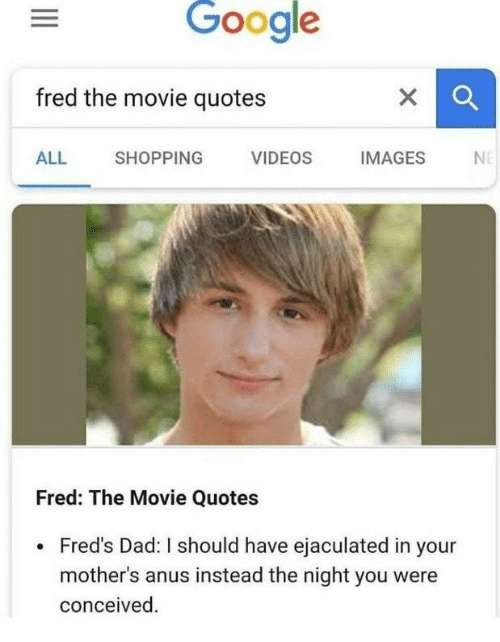 Google Fred The Movie Quotes ALL SHOPPING VIDEOS IMAGESN Fred The Enchanting Fred The Movie Quotes