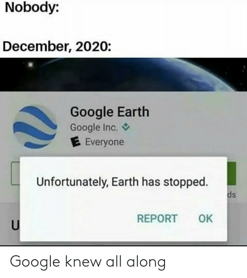 knew: Google knew all along