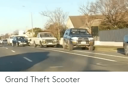 Theft: Grand Theft Scooter