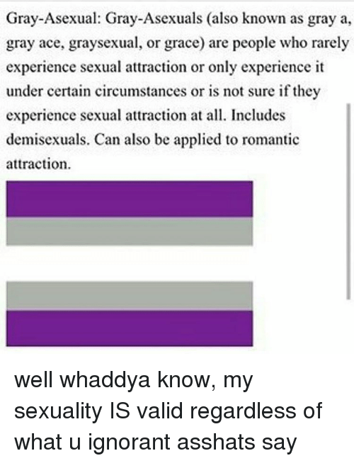 Grey asexuality definition