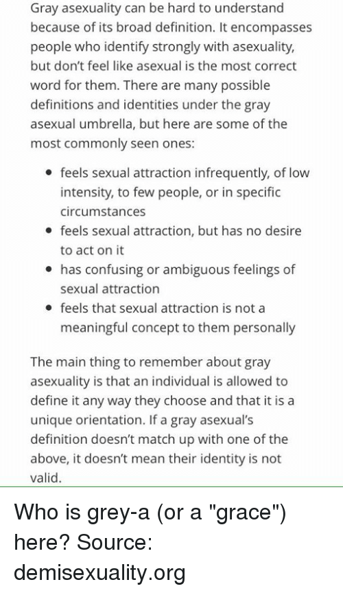 Define asexual people