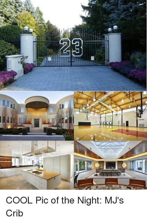Cool, Pics, and Pic: GUD COOL Pic of the Night: MJ's Crib