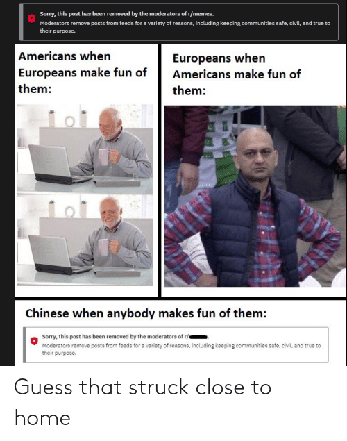 close: Guess that struck close to home