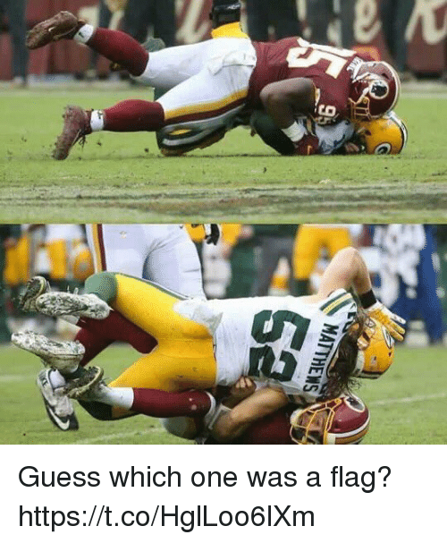 Football, Nfl, and Sports: Guess which one was a flag? https://t.co/HglLoo6lXm