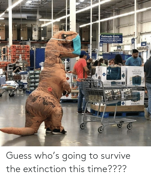 The: Guess who's going to survive the extinction this time????