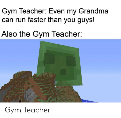 Gym: Gym Teacher