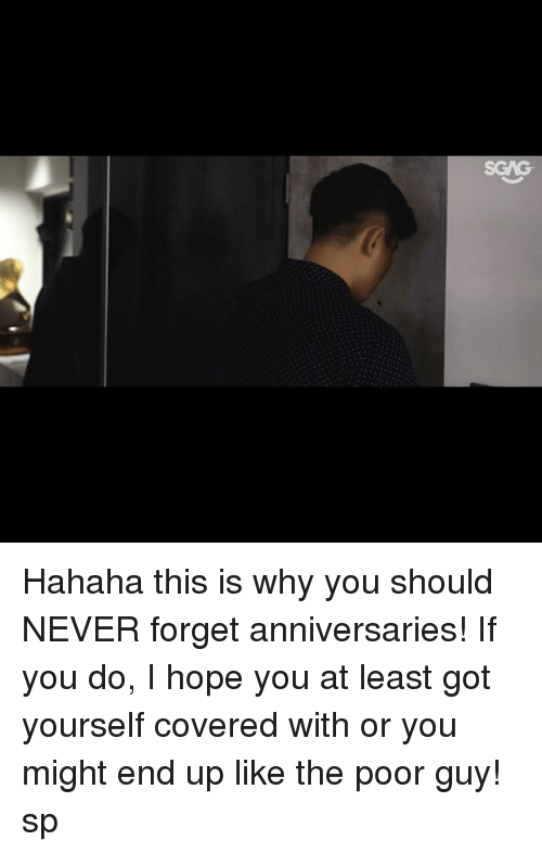 Memes, Link, and Hope: Hahaha this is why you should NEVER forget anniversaries! If you do, I hope you at least got yourself covered with <link in bio> or you might end up like the poor guy! sp