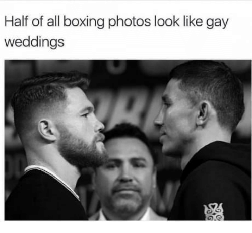 Boxing, Gay, and Photos: Half of all boxing photos look like gay  weddings