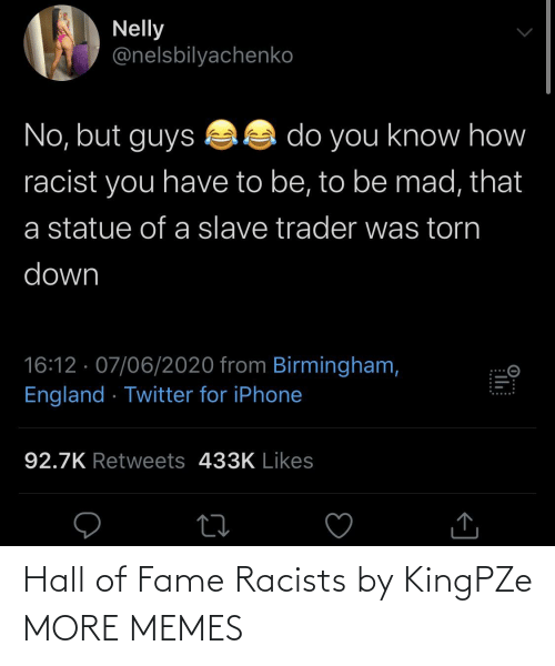 Racists: Hall of Fame Racists by KingPZe MORE MEMES