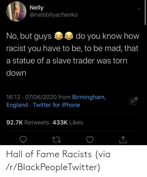 R Blackpeopletwitter: Hall of Fame Racists (via /r/BlackPeopleTwitter)