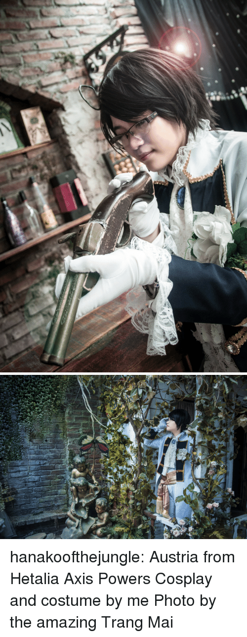 axis powers: hanakoofthejungle: Austria from Hetalia Axis Powers Cosplay and costume by me Photo by the amazing Trang Mai