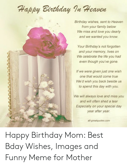 25 Best Memes About Birthday For Mom Birthday For Mom Memes