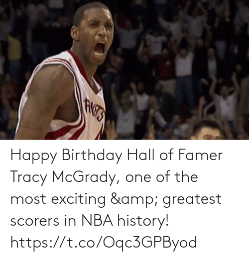 The Most: Happy Birthday Hall of Famer Tracy McGrady, one of the most exciting & greatest scorers in NBA history!   https://t.co/Oqc3GPByod
