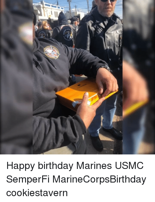 usmc: Happy birthday Marines USMC SemperFi MarineCorpsBirthday cookiestavern