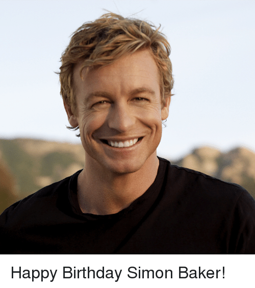 Bakerate: Happy Birthday Simon Baker!
