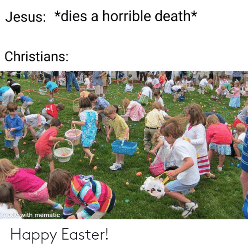 Easter: Happy Easter!