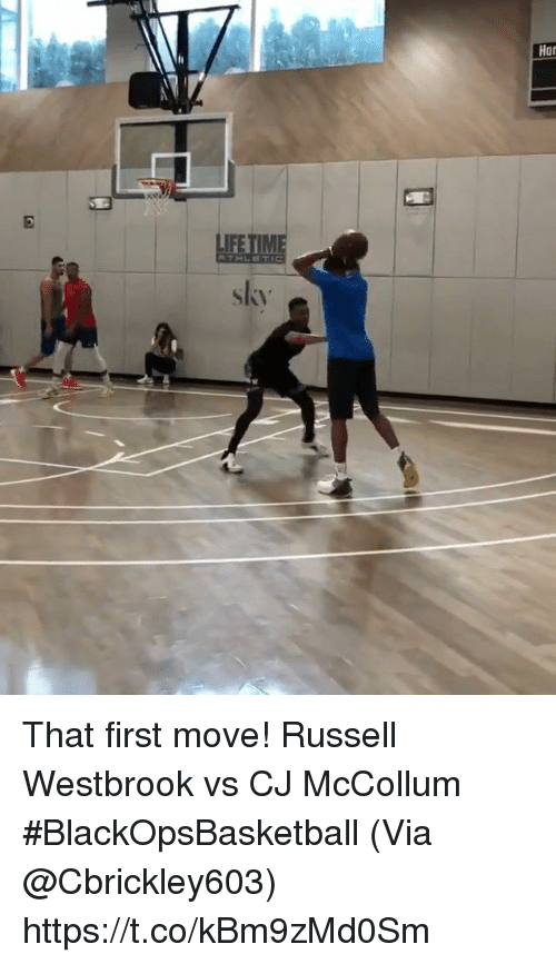 Mccollum: Har  IFE  skv That first move!  Russell Westbrook vs CJ McCollum #BlackOpsBasketball   (Via @Cbrickley603) https://t.co/kBm9zMd0Sm
