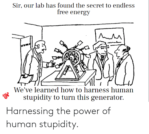 The Power Of: Harnessing the power of human stupidity.