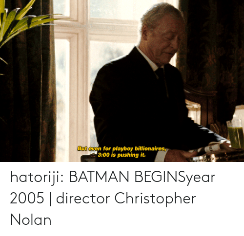 small: hatoriji:  BATMAN BEGINSyear 2005 | director Christopher Nolan