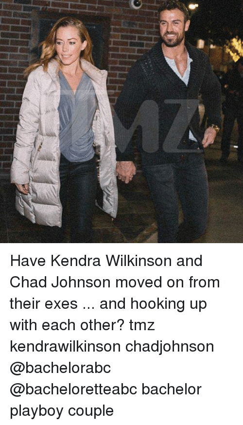 Memes, Bachelor, and Playboy: Have Kendra Wilkinson and Chad Johnson moved on from their exes ... and hooking up with each other? tmz kendrawilkinson chadjohnson @bachelorabc @bacheloretteabc bachelor playboy couple