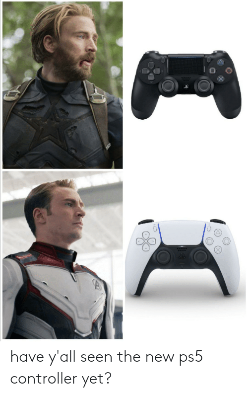 new: have y'all seen the new ps5 controller yet?