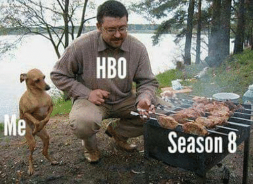 Hbo, Memes, and 🤖: HBO  Me  s Season 8