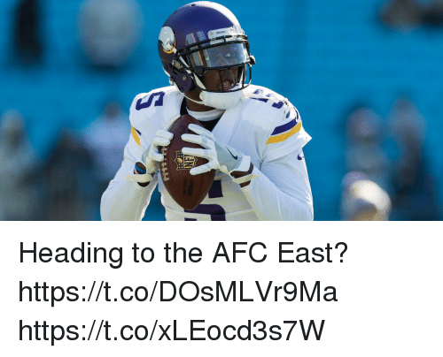 Afc East: Heading to the AFC East? https://t.co/DOsMLVr9Ma https://t.co/xLEocd3s7W