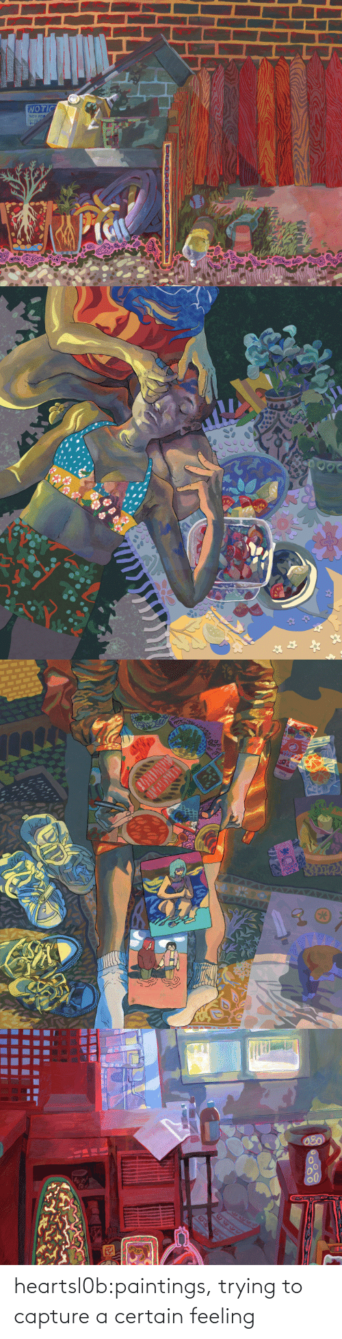 Paintings: heartsl0b:paintings, trying to capture a certain feeling