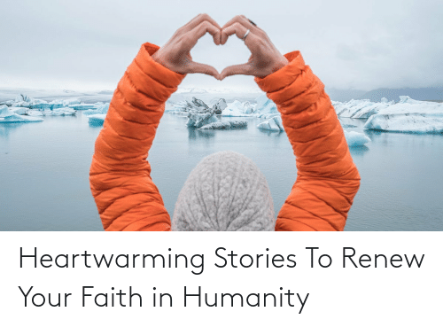 Stories:   Heartwarming Stories To Renew Your Faith in Humanity