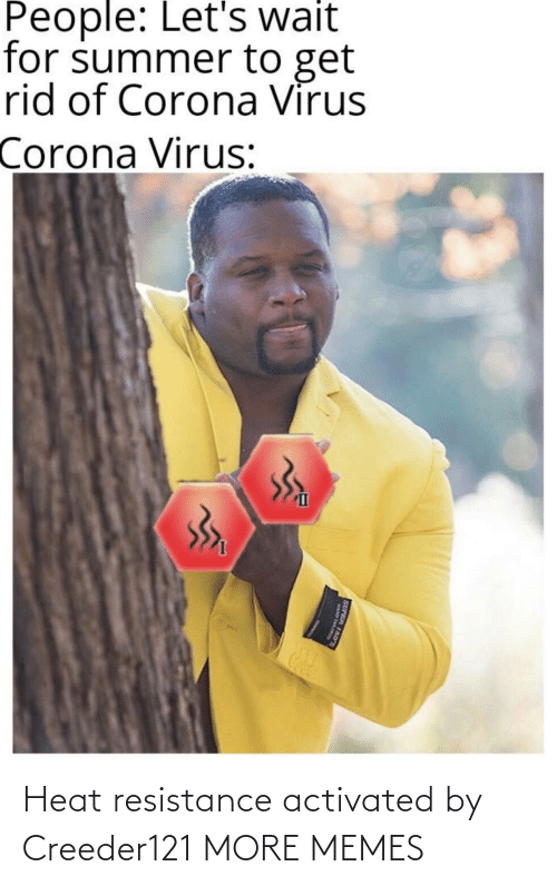 Heat: Heat resistance activated by Creeder121 MORE MEMES