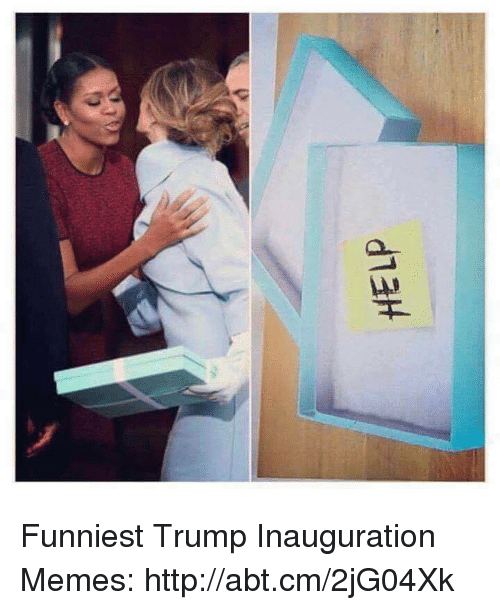 Funniest Trump: HELP Funniest Trump Inauguration Memes: http://abt.cm/2jG04Xk