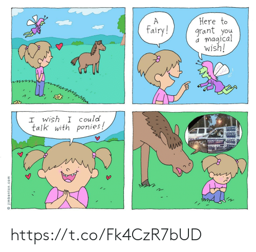 I Wish I Could: Here to  grant you  magical  wish!  A  fairy!  I wish I Could  talk with ponies!  TRM  TRUMP TRUMP  RUM  O jimbenton.com https://t.co/Fk4CzR7bUD