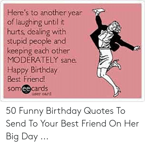 here s to another year of laughing until it hurts dealing