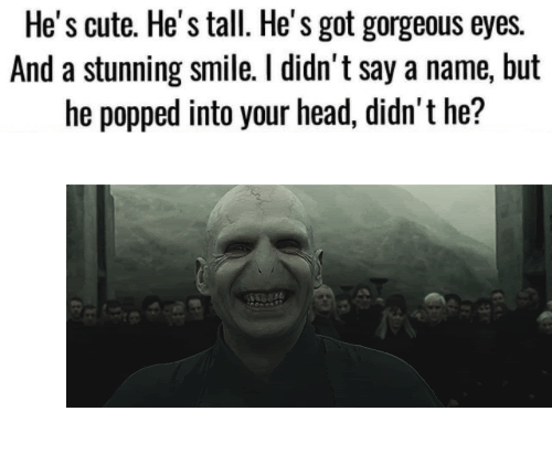 "Cute, Gif, and Head: He's cute. He's tall. He's got gorgeous eyes.  And a stunning smile. I didn't say a name, but  he popped into your head, didn't he? <figure class=""tmblr-full"" data-orig-width=""500"" data-orig-height=""202"" data-tumblr-attribution=""obama-biden-memes:JtZTicyv92eVDxQ6CY8ibA:Zs-0se2JLg0QP"" data-orig-src=""https://78.media.tumblr.com/3383dee07634243a05c61c3c25de562d/tumblr_omkgv58bym1w3qlxzo1_500.gif""><img src=""https://78.media.tumblr.com/3383dee07634243a05c61c3c25de562d/tumblr_inline_oqhenuf7GZ1rw09tq_540.gif"" data-orig-width=""500"" data-orig-height=""202"" data-orig-src=""https://78.media.tumblr.com/3383dee07634243a05c61c3c25de562d/tumblr_omkgv58bym1w3qlxzo1_500.gif""/></figure>"