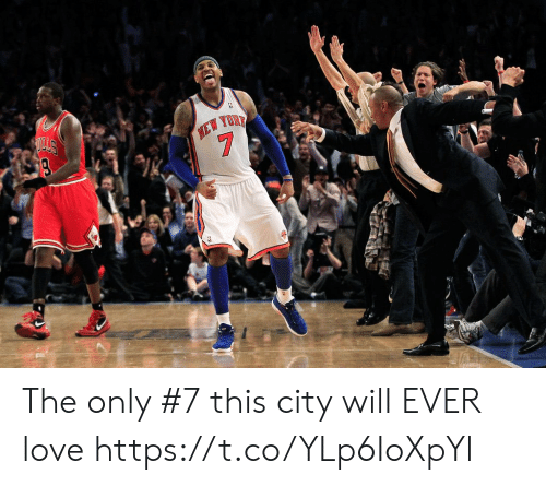 New York Knicks: HEW YOR  7 The only #7 this city will EVER love https://t.co/YLp6IoXpYl
