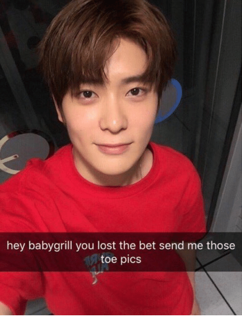 Lost, Bet, and Pics: hey babygrill you lost the bet send me those  toe pics