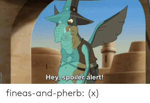 phineas: Hey, spoiler alert! fineas-and-pherb:  (x)
