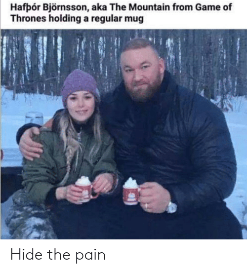 The Pain: Hide the pain