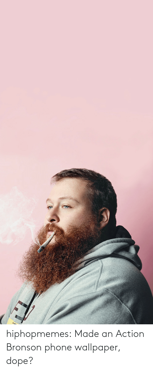 Wallpaper: hiphopmemes:  Made an Action Bronson phone wallpaper, dope?