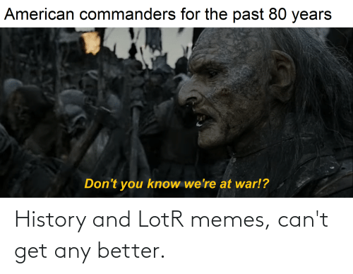 Lotr Memes: History and LotR memes, can't get any better.