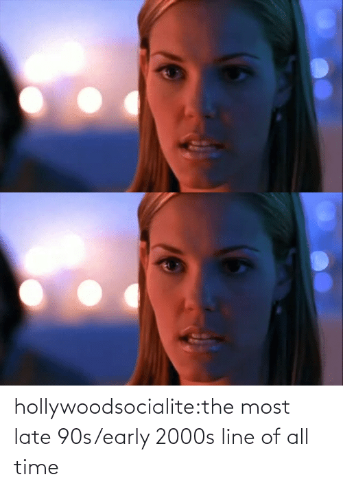 early 2000s: hollywoodsocialite:the most late 90s/early 2000s line of all time