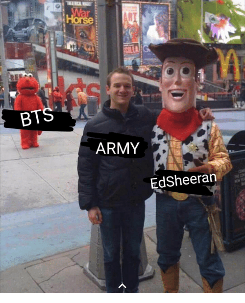 Army, Horse, and Bts: Horse  BTS  ARMY  EdSheeran