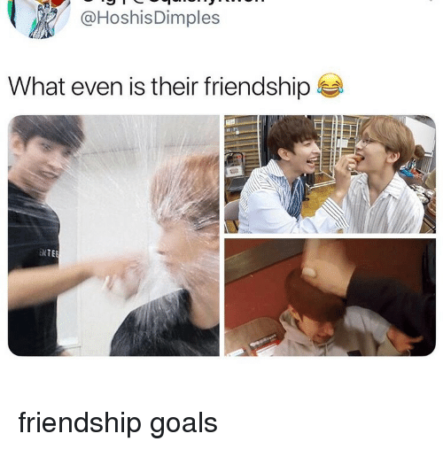 Friendship Goals: @HoshisDimples  What even is their friendship  ENTE friendship goals