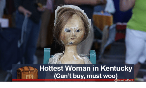Kentucky, Woo, and Woman: Hottest Woman in Kentucky  (Can't buy, must woo  KeatonPatti